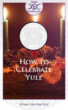 Yule Ritual: 3 tips for celebrating Yule, the Sabbat of Rebirth! Yule Wicca, Wicca Witchcraft, Pagan Witch, Witches, Sabbath, Wicca Holidays, Winter Solstice Rituals, Yule Traditions, Pagan Christmas