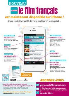 Le Film Français est donc désormais disponible sur iPhone :  http://www.lefilmfrancais.com/le-film-francais-iphone