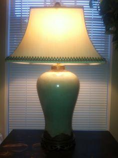 Lamp. I love lamp. So pretty