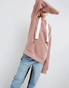 pink hoodie - asos