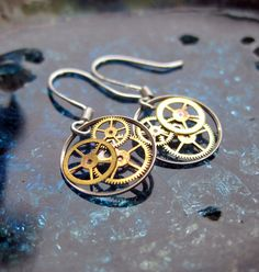 $40 steam punk earrings - Wow, really? I'm seriously underpriced then.