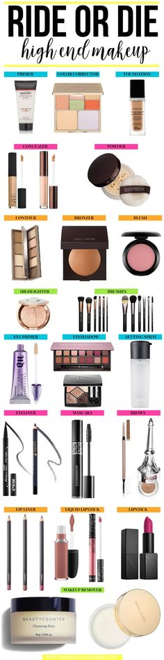 Are you in need of an updated makeup routine? Check out the Ride or Die Makeup products this blogger loves! Get started on your way to a new high end makeup kit.
