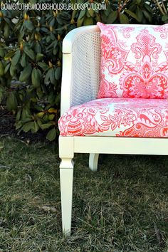 """A """"Shabby Chic"""" Chair for Ainsley - welcometothemousehouse.com"""