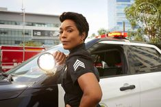 Fall TV's biggest stars strike a pose for EW Courtney B Vance, Fall Tv, Hollywood Divas, Angela Bassett, Police Officer, Police Police, Series Movies, Tv Series, Good Doctor