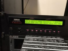 Yamaha TX802 FM Synth (Dx 7 Dx7ii Dx7 In A Rack)