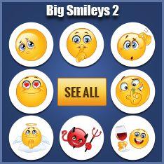 Cool smileys for Facebook