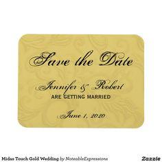 Midas Touch Gold Wedding