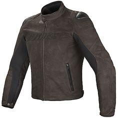 Giacca in pelle - Biker Motorcycle Leather Jacket Street Rider testa di moro Dainese November discount code 30% FB2016MT www.motorama.it
