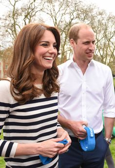 Duchess Kate & Prince William - The Duke And Duchess of Cambridge are spearheading a new campaign called Heads Together which aims to change the national conversation on metal wellbeing -  April 21, 2016