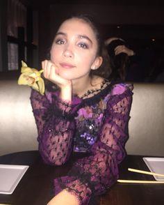 """53.7k Likes, 466 Comments - Rowan Blanchard (@rowanblanchard) on Instagram: """"Photo by my mamma  dreamy fairy tale dress by angels @rodarte """""""
