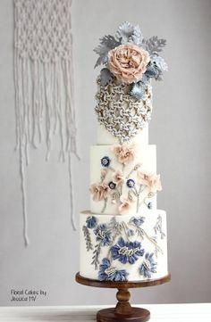BEAN PASTE wedding cake by Jessica MV