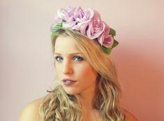 Purple roses. Www.beyondaveil.etsy.com