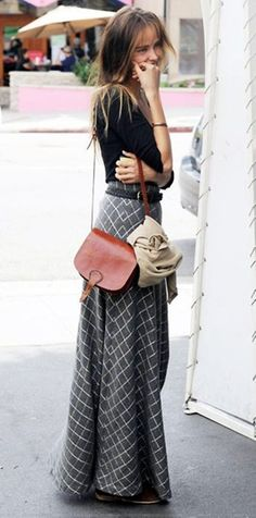 Trendy Long Skirt Idea (35)