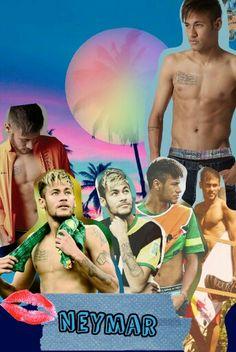 neymar collage