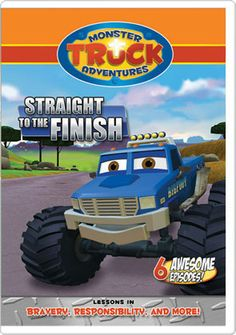 monster truck adventures | Monster Truck Adventures: Straight to the Finish - DVD