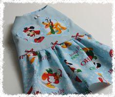 Disney Christmas Dog Dress  XXSXS..Holiday Pet