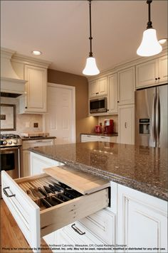 Kitchen, Bath and Closet Cabinetry by Wellborn Cabinet, Inc.