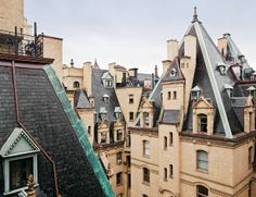 The Dakota on 1 West 72nd Street, by Henry J Hardenbergh, is known for its eclectic mix of fortress-thick walls, steeply pitched roofs, and clusters of very triangular dormers. Photography: Evan Joseph Read more at http://www.wallpaper.com/lifestyle/may-book-news-eight-new-tomes-to-add-to-your-shelves/7424#Zt8m5jxu741xZ5D6.99