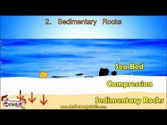 Sedimentary Rocks Video for kids by makemegenius.com - YouTube