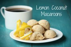 Egg Free, Lemon Coconut Macaroons (Raw or Baked)    Ingredients:         3/4 cup almond flour      1 1/2 cup dried, shredded unsweetened coconut      1/4 cup plus 1-2 tablespoons raw honey      1/4 cup coconut oil (where to buy coconut oil)      30-40 drops organic, food-grade lemon essential oil      Pinch of unrefined sea salt (where to buy salt)