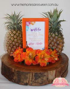 Hawaii Party | Aloha Party | Hawaiian Theme | Birthday Party | Styled by Memories are Sweet www.memoriesaresweet.com.au www.facebook.com/memoriesaresweet