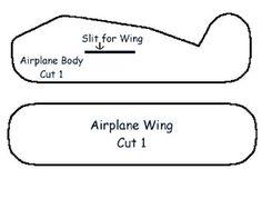 paper airplane printable template sheets   Download JPG Pattern Download PDF Pattern