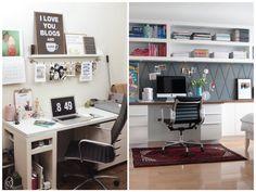 Por um office cheio de estilo e conforto #office #escritorio #decor #cadeira #chair #conforto #estilo #casadasamigas