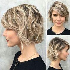 nice 55 Идей стрижки боб на все виды волос - Выбираем для себя идеальный вариант в 2017 году (фото)