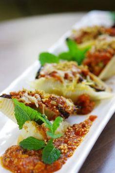 逃肉好時光:素肉醬焗香菌貝殼粉配薯蓉鹽焗腰果沙律 : 主菜 : 明覺電子 : 佛門網