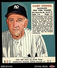 Casey Stengel, American League, New York Yankees, Humor, Humour, Funny Photos, Funny Humor, Comedy, Lifting Humor