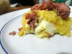 Gateau di patate e salsiccia cremoso!!! | Ricetta gustosa piatti unici