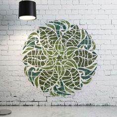 Medallion Stencil - Furniture Mandala Stencil - Wall Painting Stencils - Decorative Medallion Stencil