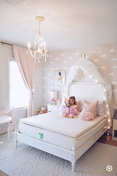 A Pink Ballerina & Swan Toddler Bedroom - The Pink Dream