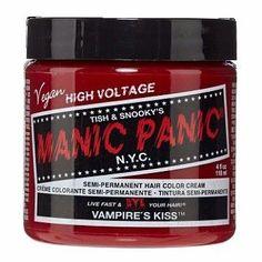 Manic Panic Classic Cream Hair Dye, Vampire's Kiss at I Kick Shins
