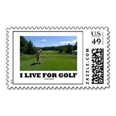 Golf Sayings Custom Postage and Golf Sayings Zazzle Custom Stamps ...