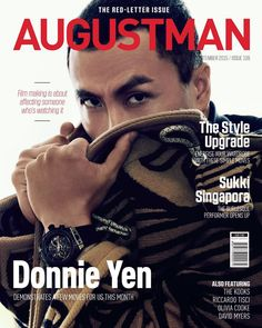"""AUGUST MAN on Instagram: """"Movie icon, Donnie Yen talks about his foray into Hollywood in our September issue. Grab your copy to find out more about this megastar's whirlwind life. Photography: GT Gan Styling: Chia Wei Choong Wardrobe: Louis Vuitton Watch: Hublot"""""""
