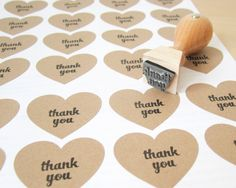 Hey, I found this really awesome Etsy listing at http://www.etsy.com/listing/105557902/mini-thank-you-stamp-12-thank-you