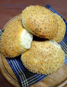 panini olio sicilia bimby Pizza, Panini, Hamburger, Breads, Food, Fantasy, Brioche, Bread Rolls, Eten