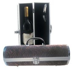 Picnic Gift Gala Faux Leather Wine Carrier, Brown Bengal Fur by Picnic Gift. $24.99. It is difficult to overstate the simple elegance of these faux leather wine purse. The classic design and light colors accentuates the crocodile patterns, while its rich finish reflects from the night light in your favorite restaurant: . Features: Faux leather wine purse. Includes a corkscrew and elastic to straps keep your bottle secure. Base of the wine purse has 4 chrome feet...