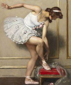 Auguste-Leroux - ballerine