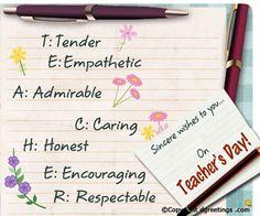 Dgreetings    Wish Happy Teacher's day to your favourite teacher...