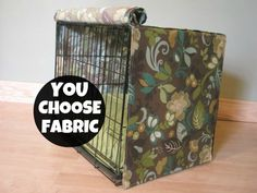 Designer Dog Crate Cover In All Sizes - Choose From 100s Of Premier Print…