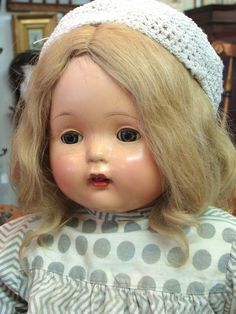 Effanbee Composition Mae Starr Phonograph Doll