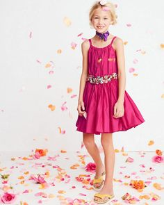 Our Belted Dress by Eliane et Lena is made for twirling.