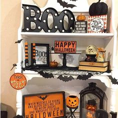 Happy Friday!! Halloween is fast approaching so I pulled out the last of my Halloween decor and set it all up! wanting to share this SPOOKtacular little corner for some fun Halloween tags!#frightfullyfunfriday #friyaydecorday #myhalloweenhome #theseasonofdecor #saturdayspookies #wickedweekenddecor & #saturdaysignlove would @kimberleeshipley or @acleanprismlife care to share for any of these!? . . . #halloween #friday #fridaynight #sign #blackandorange #halloweendecor #halloweendecorat...