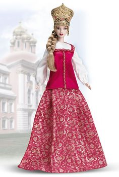 2005 - Dolls of the World® - The Princess Collection - Princess of Imperial Russia™ Barbie® #G5861