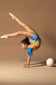 Rythmic gymnasts..... They are truly flexibile!!!!