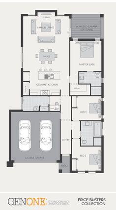 McDonald Jones Homes - Madison Collection - Floorplan #Floorplans #luxuryhome