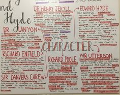 Studyblr — I'm very pleased with my mind map on Dr Jekyll and. English Gcse Revision, Gcse Biology Revision, Gcse English Language, Gcse English Literature, Teaching Literature, English Writing Skills, Exam Revision, Revision Quotes, Revision Motivation