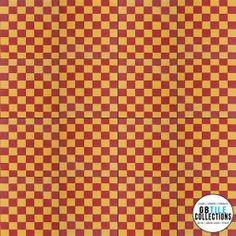 Encaustic Cement Tile - Geo 18